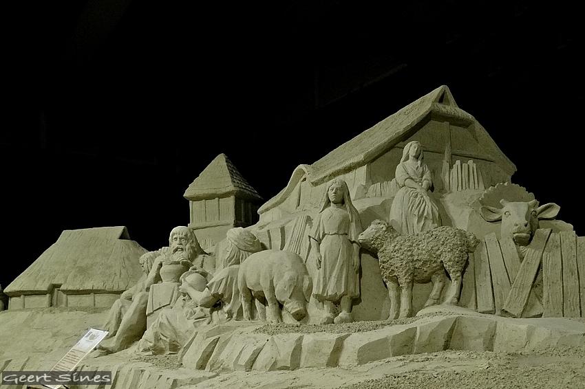 Zandsculptuur Drenthe