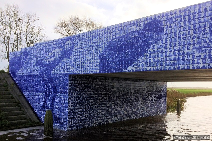Canterlandse brug - Elfstedenmonument-